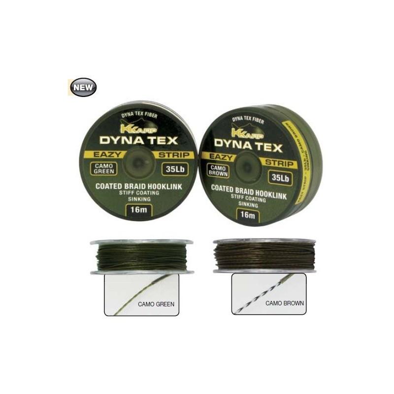 Kkarp Trenzado Dyna tex eazy strip verde (green)  35 lbs 16m