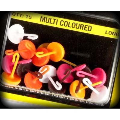 Avid Carp Topes  Colores  mixtos largos Avid Sight Stop large)