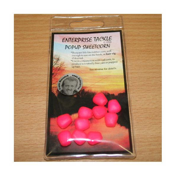 Enterprise Maiz Fluor Rosa flotante 10unid (pop up sweetcorn)