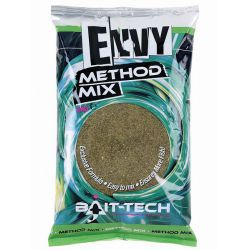 Bait-Tech Engodo cañamon&halibut2KG  (METHOD MIX ENVY GREEN