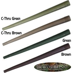 gardner anti-tangle sleeves (conos antienredos Verde Cthru 20ud)
