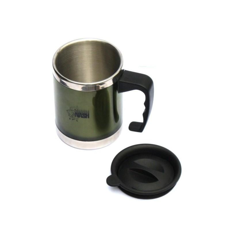 Nash Taza Metalica Termica Con tapa (thermal mug)