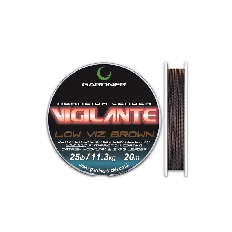 Gardner Vigilante marrón 45lb 20m (trenzado)