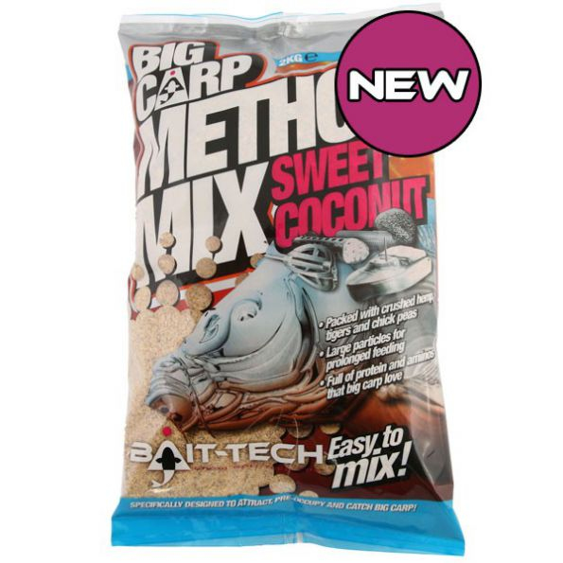 Bait-Tech Engodo Big Carp Sweet Coconut 2kg (coco)