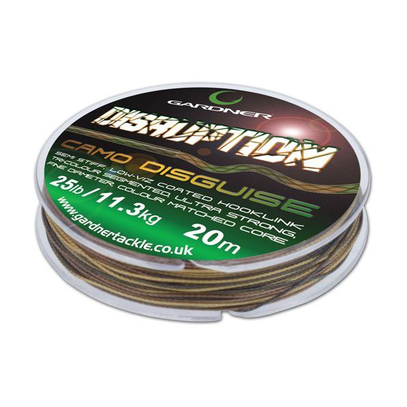 Gardner Disruption 25lb/11.3kg 20m Camo Brown (Con cubierta)
