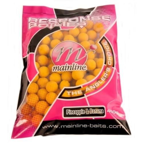Mainline boilies Response piña & banana 18mm 450gr