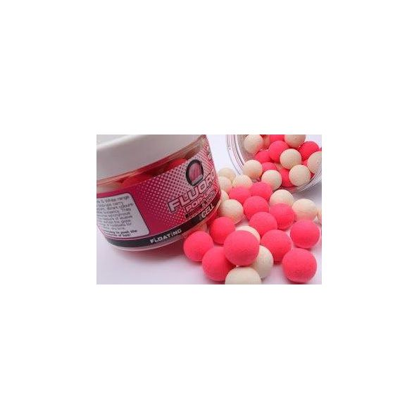 Mainline Flotantes 14mm CELL Rosa&blanco 40unid