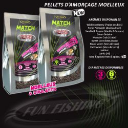 Funfishing Pellet 6mm Sweet corn (maiz) Match 800gr