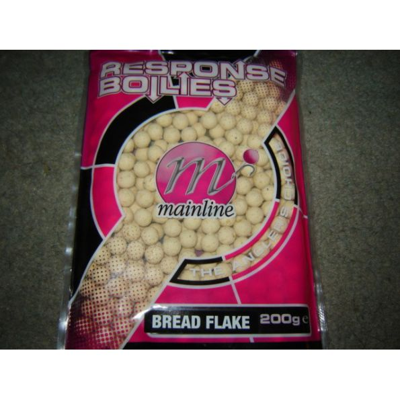 Mainline Response Boilies Bread Flake 10mm 200gr (MIGA DEPAN)