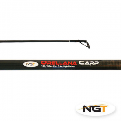 NGT Caña ORELLANA CARP - 3,90m, 2pc, 3.5lb tc Carbono