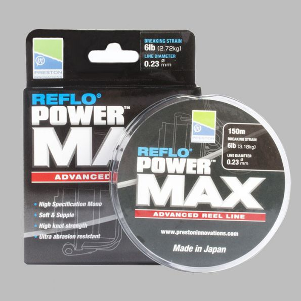 Preston Reflo Power Max 150m 10lb (4.54kg) 0.28mm