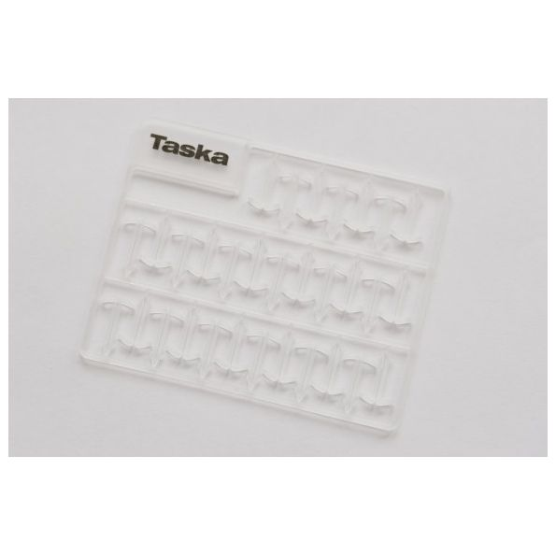Taska Extenda Stops Transparentes Large 9.5mm 129 unidades