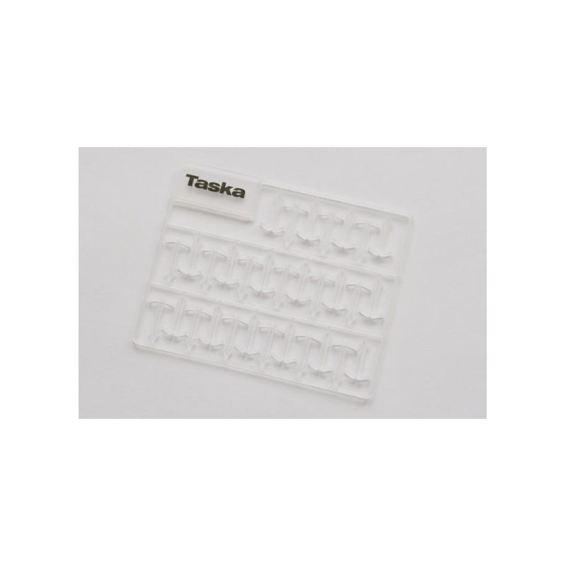 Taska Xtenda Stops Xlargue 13mm Transparente 93unid