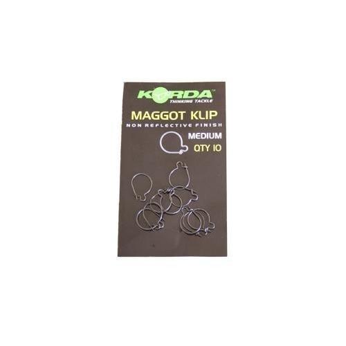 Korda Maggot Klip medium(Anilla para gusanos pequeña)