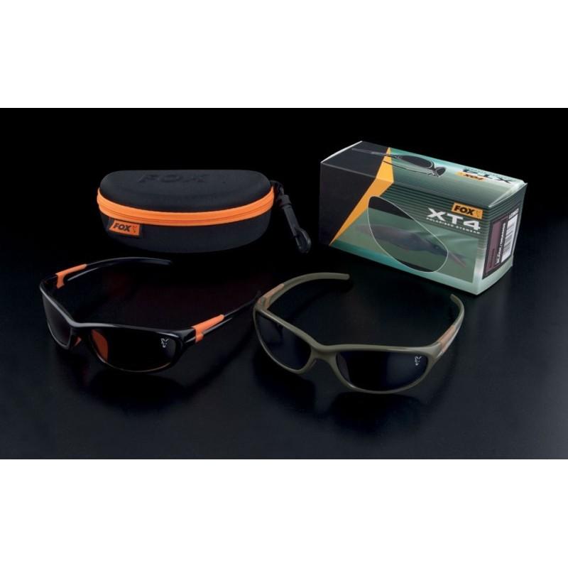 Fox Gafas Polarizadas XT4 Montura Verde-Lentes Grises