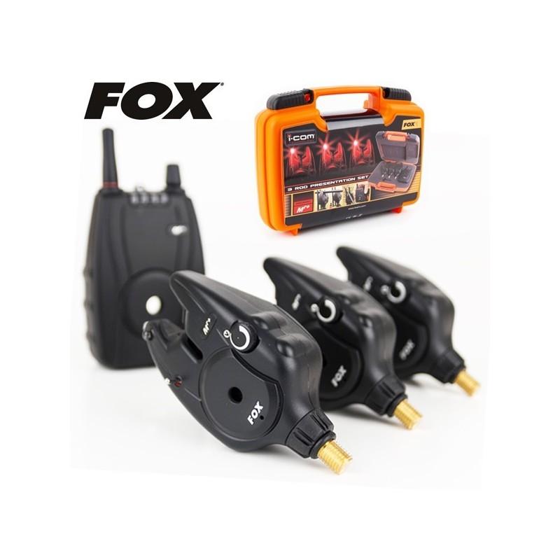 Fox Set Maletin Mr+ 3 Alarmas rojas+receptor (novedad 2013)