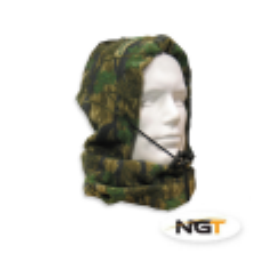 NGT Gorro- cubrecuello polar color camuflaje