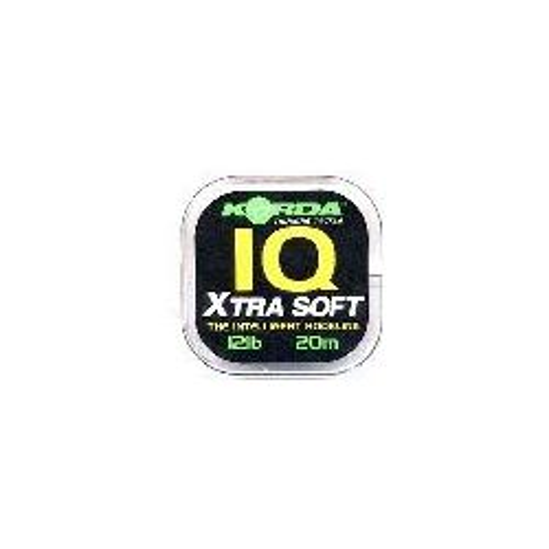 Fluorocarbono IQ Korda 15 libras Extra suave (IQ Xtra Soft)