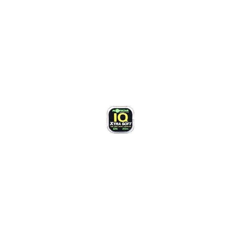 Fluorocarbono IQ Korda 20 libras Extra suave (IQ Xtra Soft)