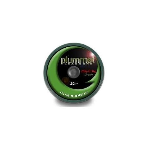 Gardner HEAVY PLUMMET LEADCORE GREEN 45lb 20m