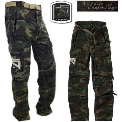 Hot spot Pant TRIO HS Camouflage Talla XL