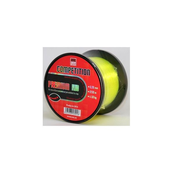 Senzor Competition Premium Amarillo Fluro 0,37mm 1200mt