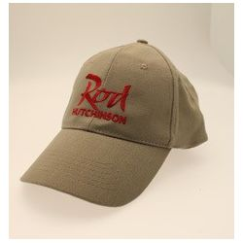 Rod Hutchinson Gorra Baseball sand logo rojo