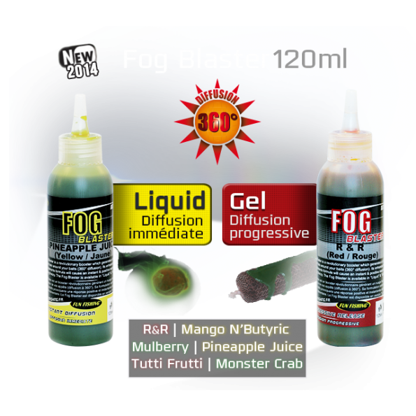 Funfishing Fog Blaster Gel Monster Crab Verde