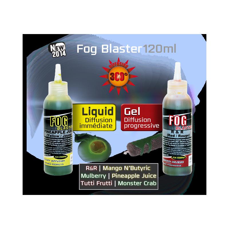 Funfishing Fog Blaster Gel Monster Crab Verde