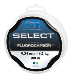 Climax SELECT FLUOROCARBONO 0.35mm 9.4kg 25mt