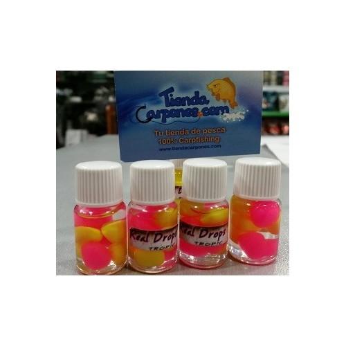 Real Drops Maiz Amarillo&Rosa flotante en aroma TROPIC 8 unid