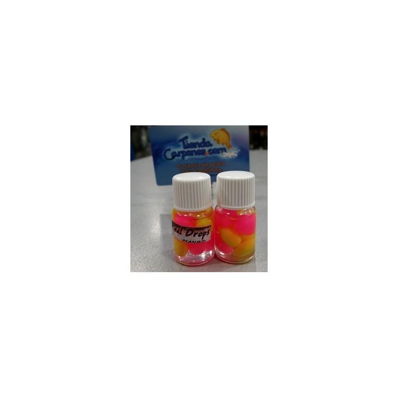 Real Drops Maiz Amarillo&Rosa flotante en aroma Mango 8 unid