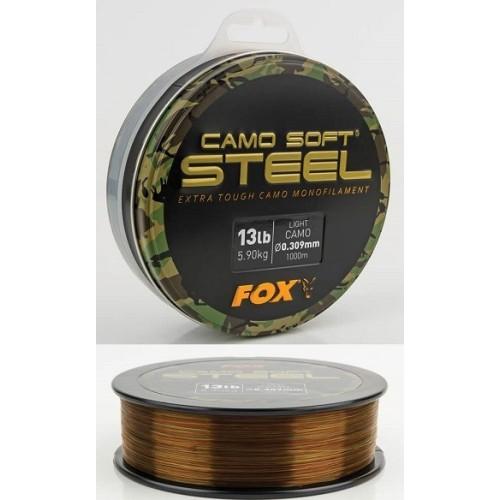 Fox Hilo Camo Soft® Steel Light Camo 1000mt 0.35mm 18lb/8.18kg