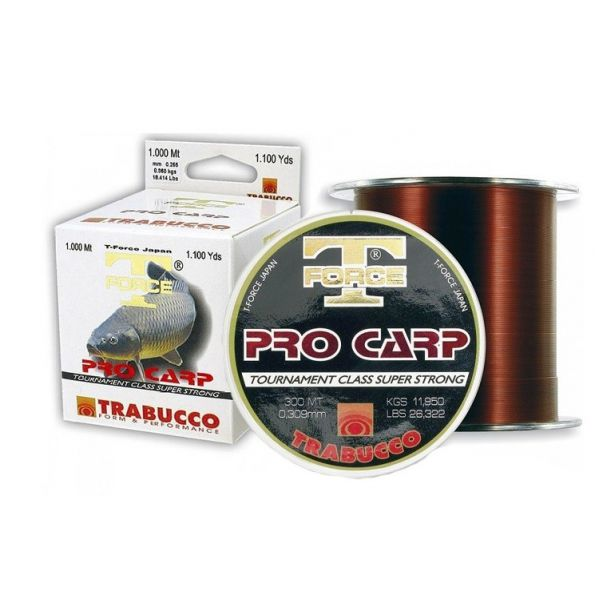 Trabucco T-Force Pro carp 0.35mm 15.800kg 300 mt