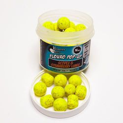 Velocity Fluoro Pop-ups 14mm Boilies&dumbells Scopex strawberry Limes cork