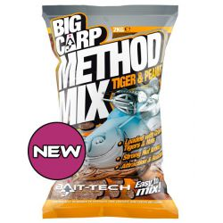 Baitech Method Mix Tiger & Peanut Big Carp 2KG