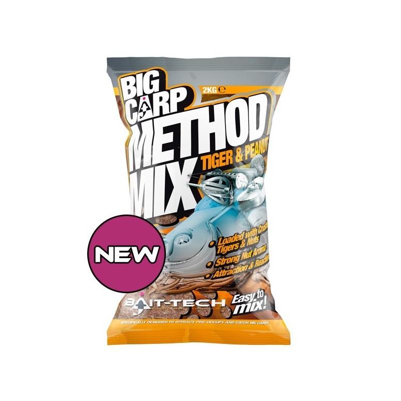 Baitech Method Mix Tiger & Peanut Big Carp 2KG