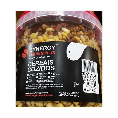 Synergy Cubo 5kg Mezcla semillas SY50 (Chufa y Maiz)