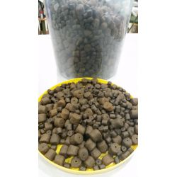 Coppens Cubo 3kg Pellet Black halibut 14mm y 8mm taladrados