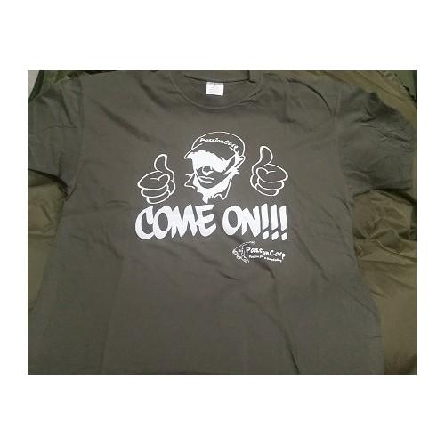 Camiseta Chico Passioncarp COME ON!!!