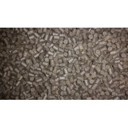 Coppens 1kg Pellet 6 mm Black Halibut