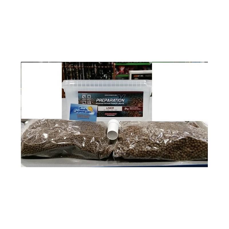 Starbait Liver Pellet Mix 2kg (higado)