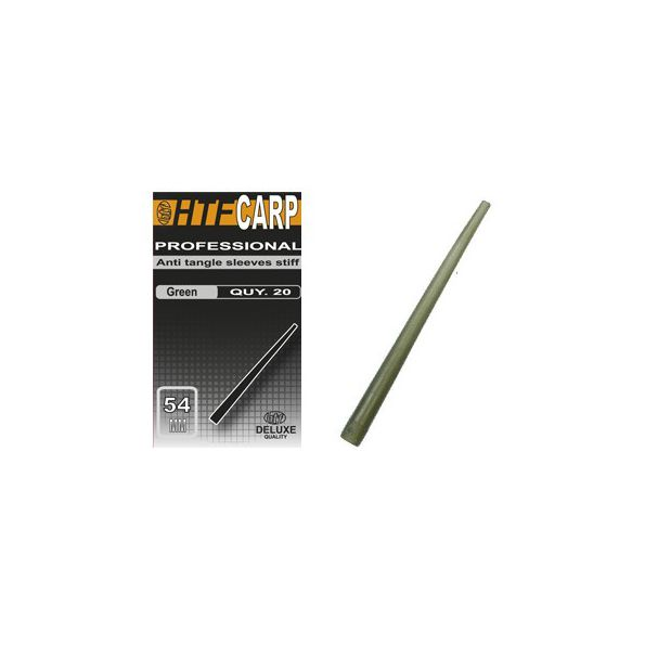 HTF Anti-Tangle Stiff Green 54mm 10 unid