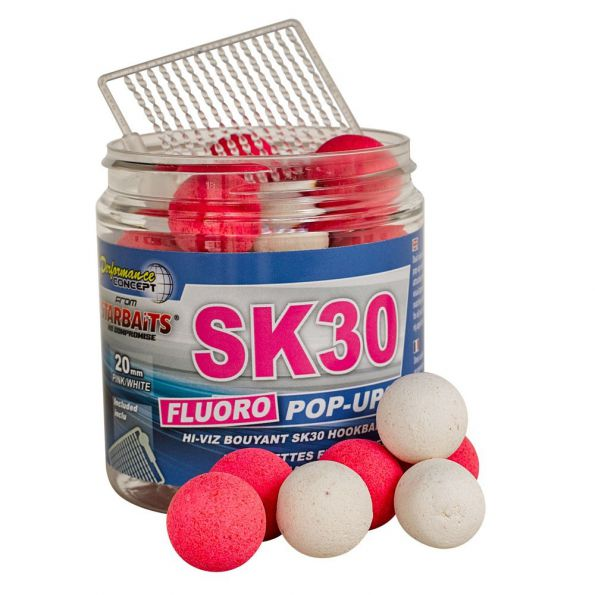 Starbait Sk30 Fluo Pop ups14mm 80gr