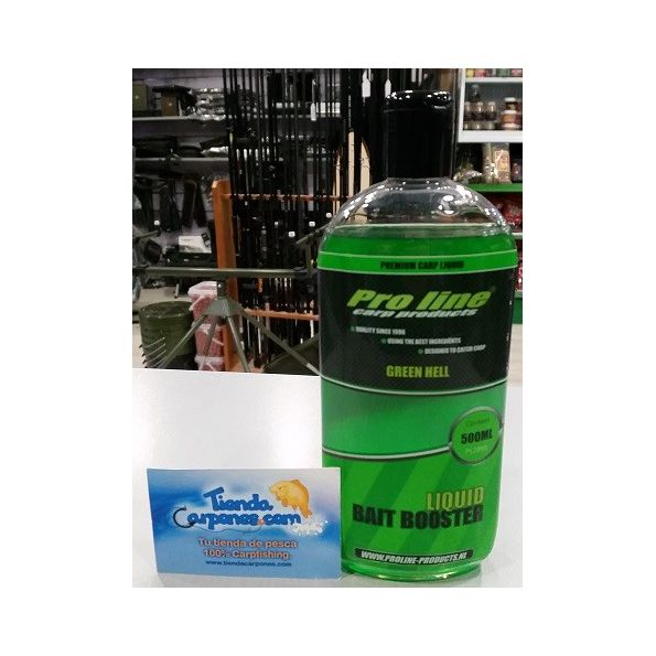 Proline Green Hell Liquid Bait Booster (500ml)