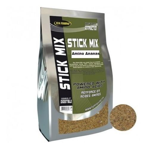 Funfishing Stick Mix Piña N`Butiric Amino 1kg (engodo mallas Piña)
