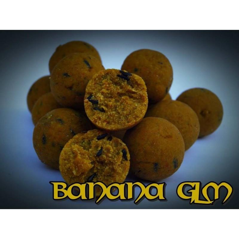 Vitalbaits Boilies 14mm BANANA-GLM 750GR (Banana&mejillon verde)