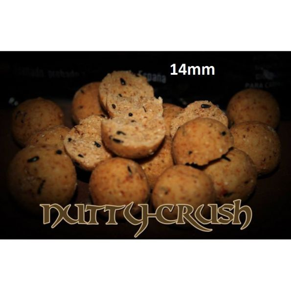 Vital Baits Boilies Nutty Crunch 14mm 750gr