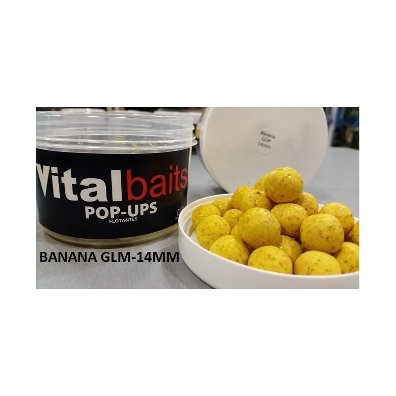 VITAL BAITS 14mm Banana-glm Flotantes