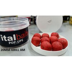 VITAL BAITS 20mm KRILL-AM Flotantes